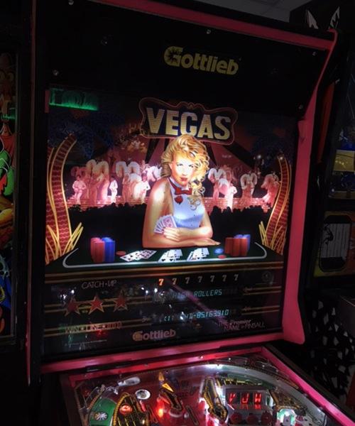 Vegas Pinball Machine