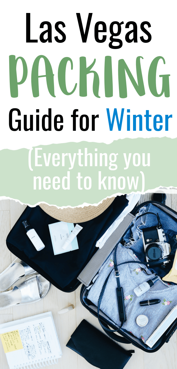 packing guide for winter to las vegas