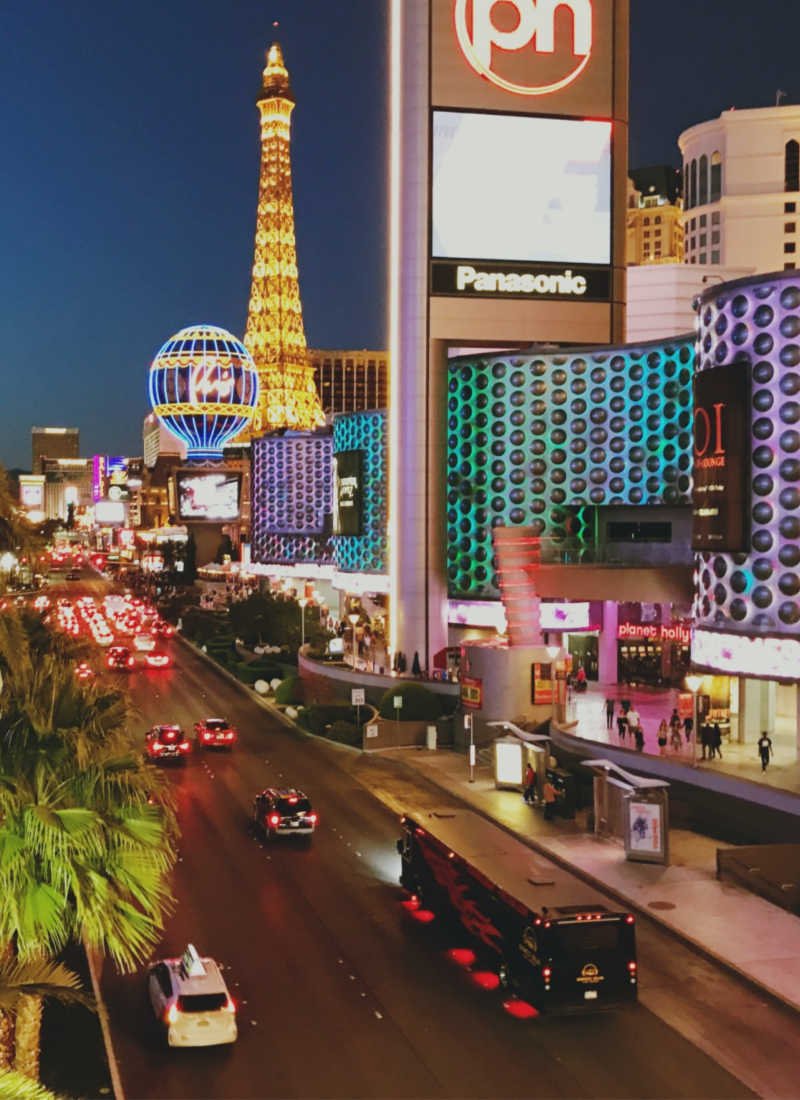 City Guide with Lightbox Locale: Las Vegas